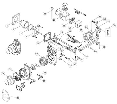 Burners BM/BMV1-2/BMV 1-2 (->2012)